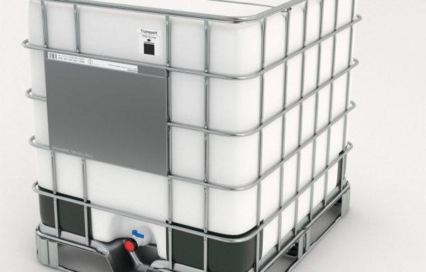 Container de 1000 litros Palete Ferro